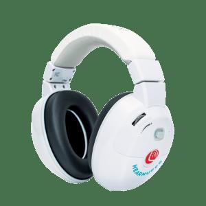 Kids hearing protectors - Trio- white kids hearmuffs