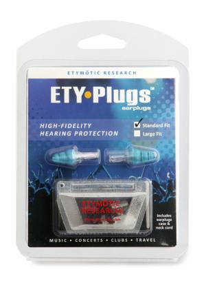 Etymotic Research ETY-Plugs High Fidelity Earplugs