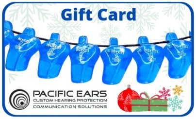 Gift Voucher purchases at Pacific Ears