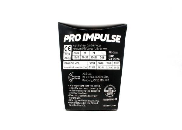 Pro Impulse Universal Ready-Fit earplugs