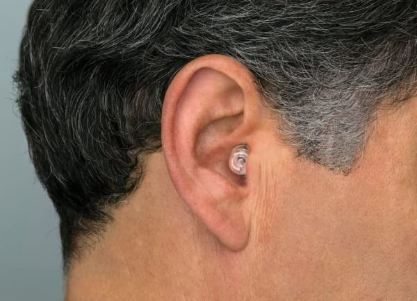 Low profile Etymotic ER20xs plugs