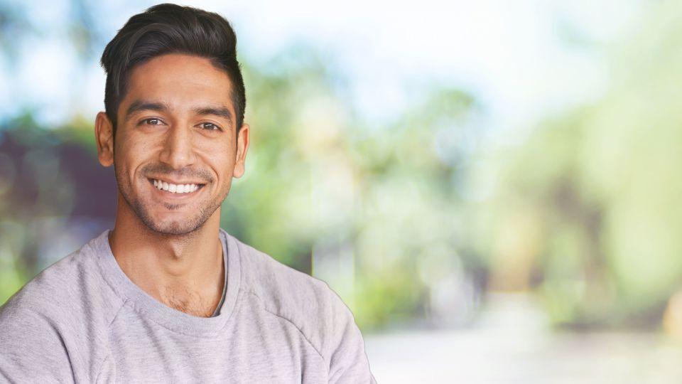 Photo of smiling man
