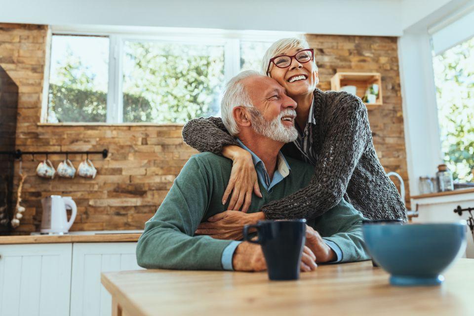Older Couple Caucasian