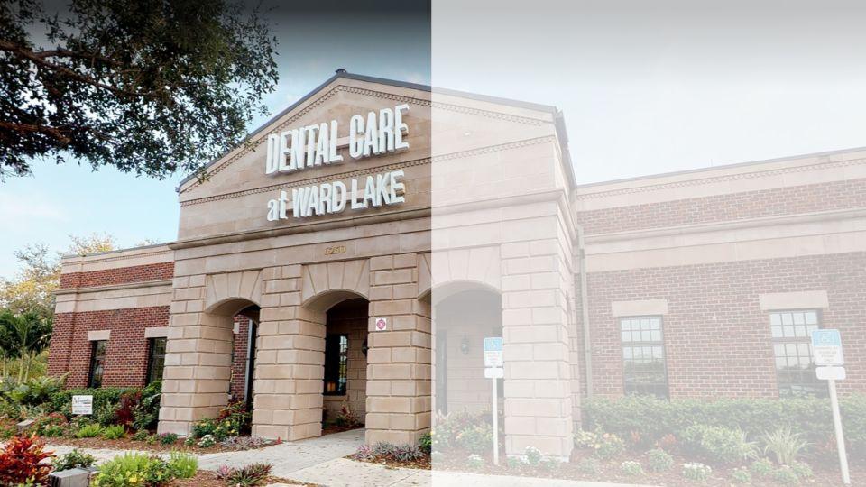 Exterior of Dental Care at Ward Lake