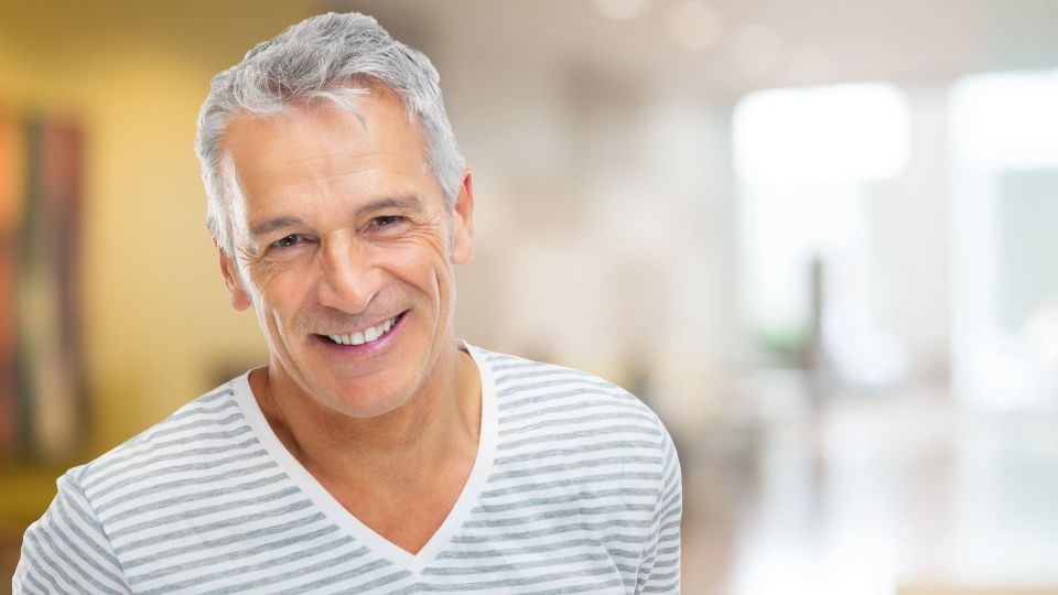 Photo of smiling man
