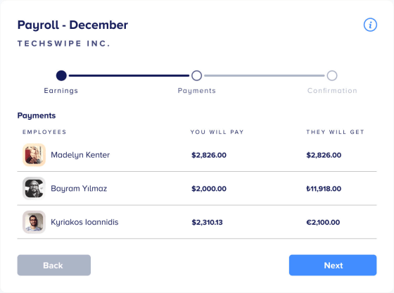 Remote Payments. Payroll for remote teams