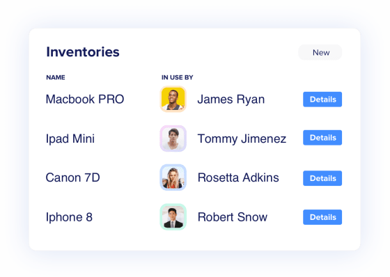 Manage inventory in a single dashboard