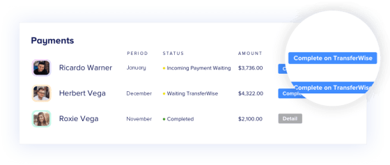 Integrate & Pay Through TransferWise