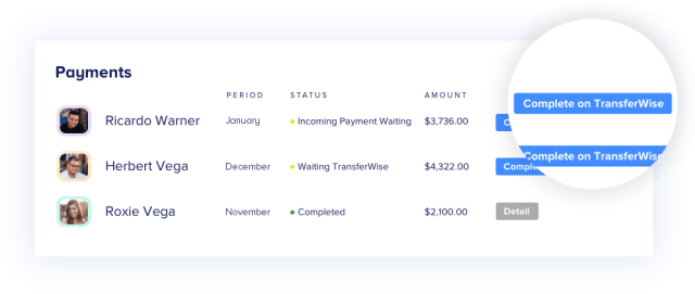 Use TransferWise with RemoteTeam to Run Your Payroll