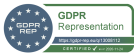 GDPR-Rep.eu certificate of Art 27 representation Remote Team