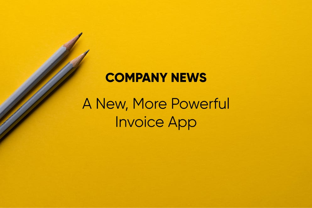 The New, More Powerful Invoice App