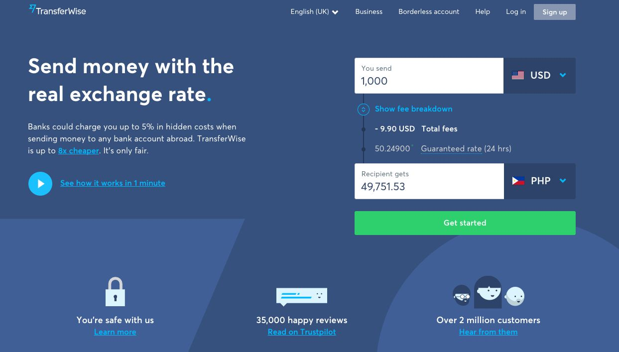 How to Use TransferWise to Send and Receive Money?