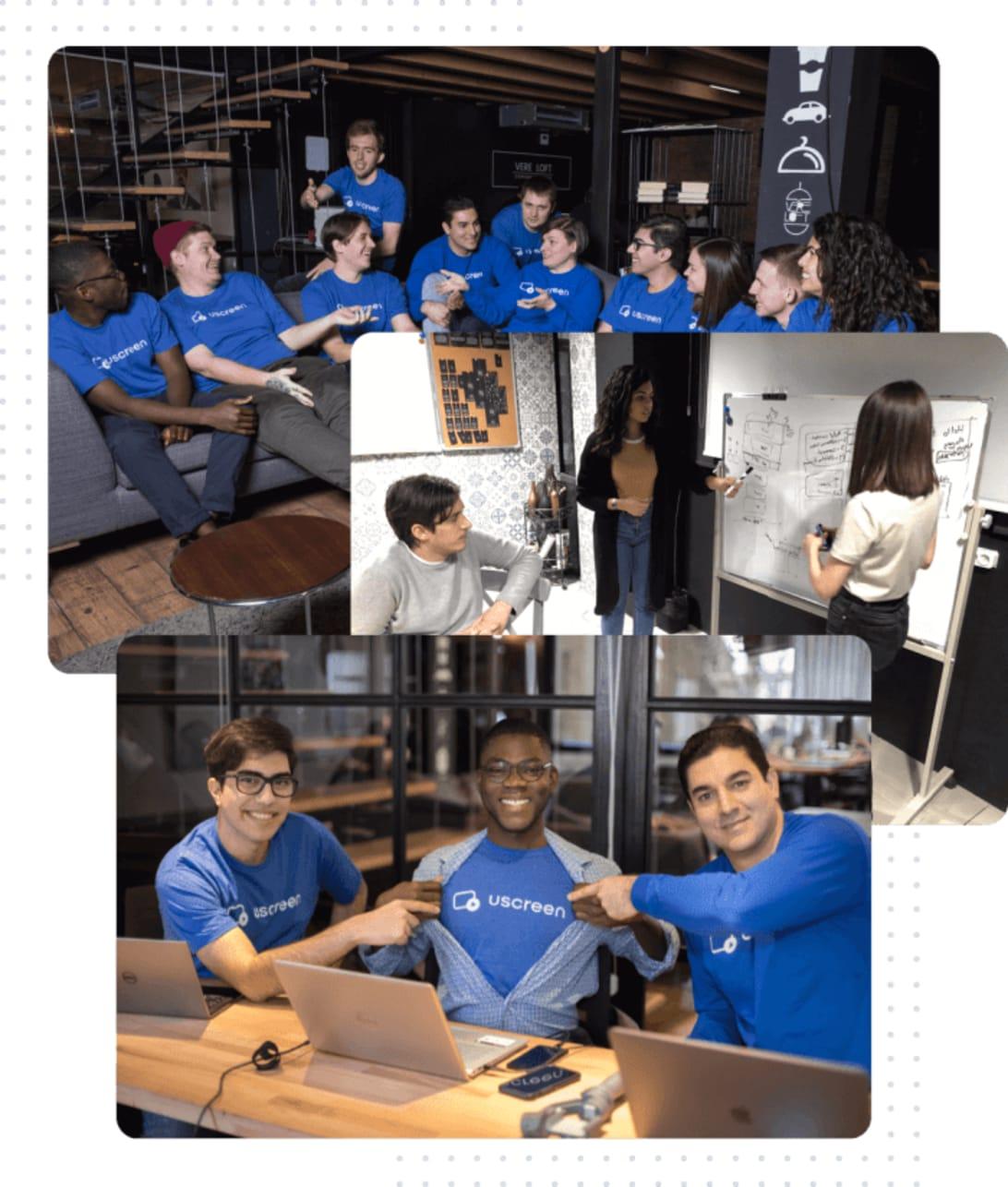Uscreen Remote company team