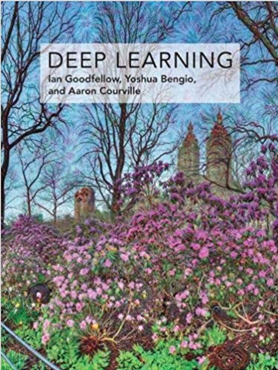 Deep learning cover book