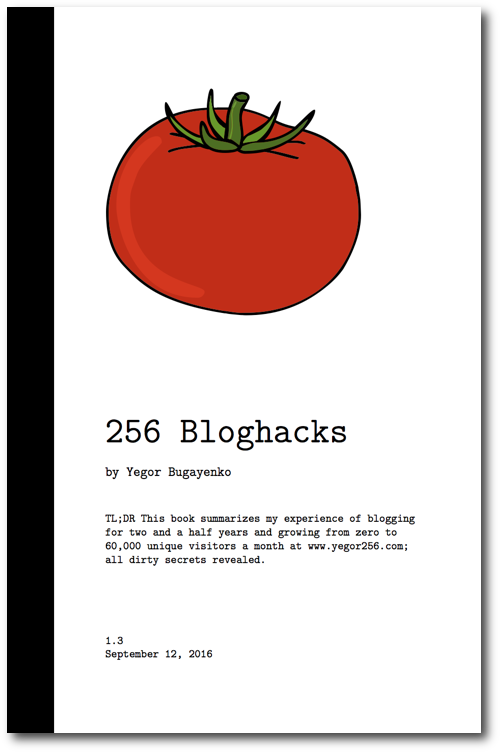 Portada de 256 Bloghacks