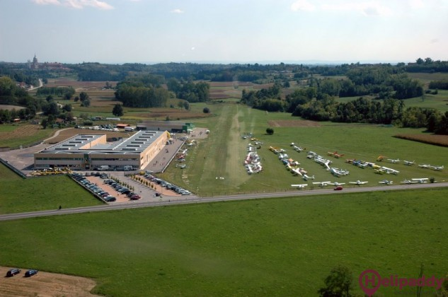 Castelnuovo Don Bosco by helicopter