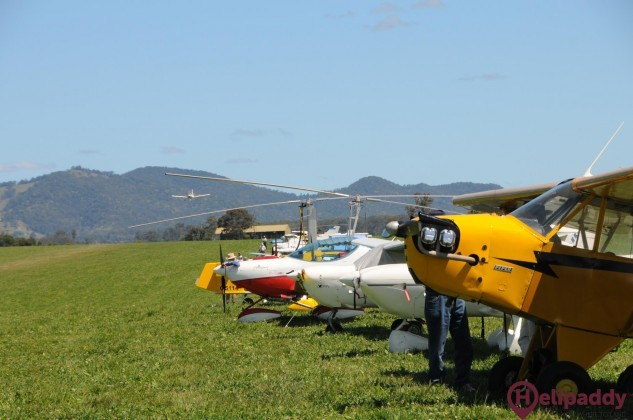 Gloucester Aero Club by helicopter