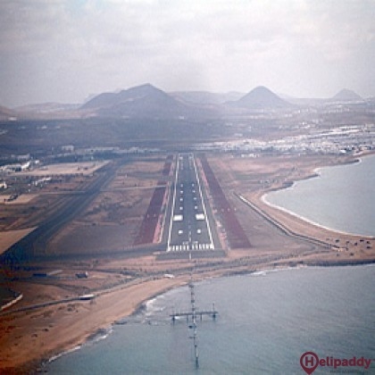 Lanzarote by helicopter