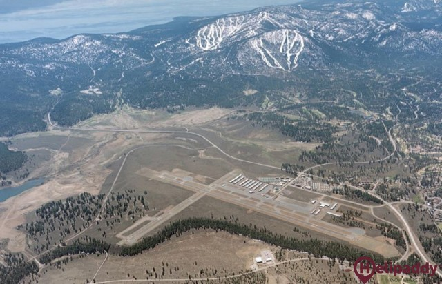 Truckee Tahoe by helicopter