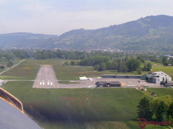 Hohenems-Dornbirn by helicopter