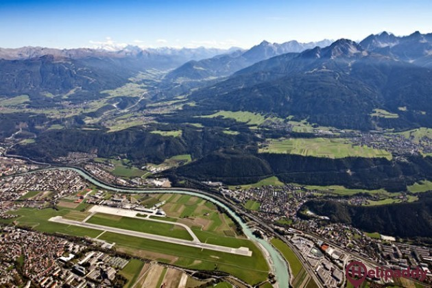 Innsbruck by helicopter