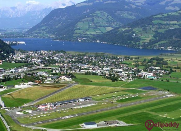 Zell am See by helicopter