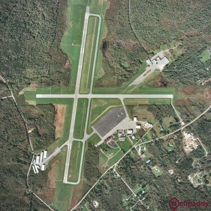 Knox County Regional Airport by helicopter
