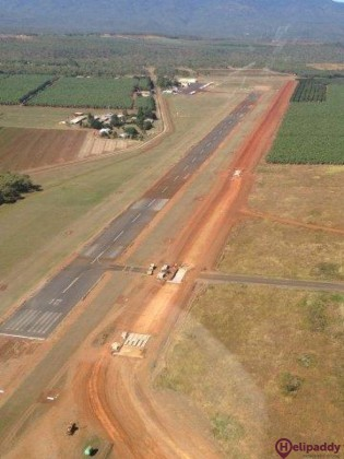 Mareeba by helicopter