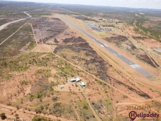 Mount Isa Airport Pty Ltd by helicopter