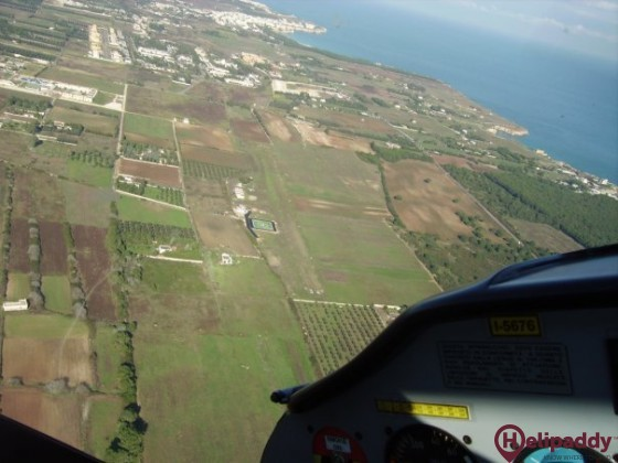 Torre San Andrea by helicopter