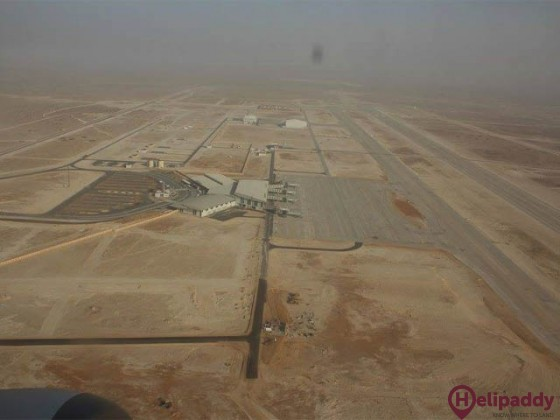 Nouakchott- Oumtounsy Airport by helicopter