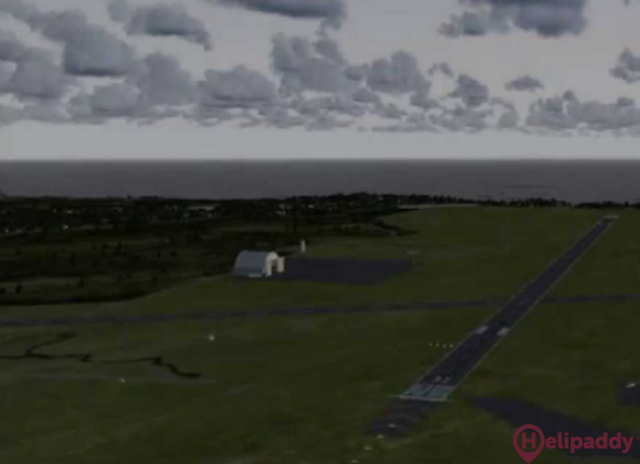 Andoya Airport  by helicopter