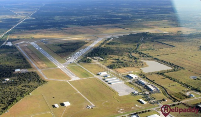 Immokalee by helicopter