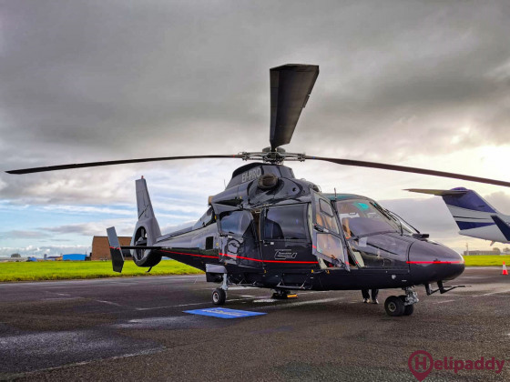 Woodgate Aviation by helicopter