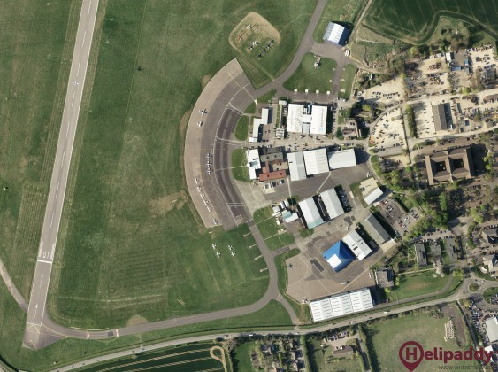 Oxford (Kidlington) by helicopter