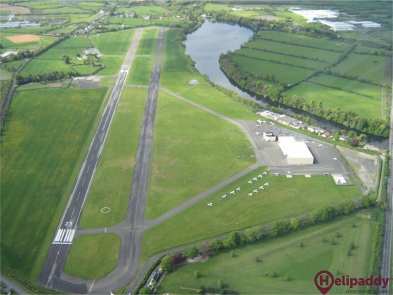 Dublin Weston by helicopter