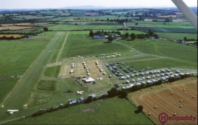 Birr Aerodrome by helicopter