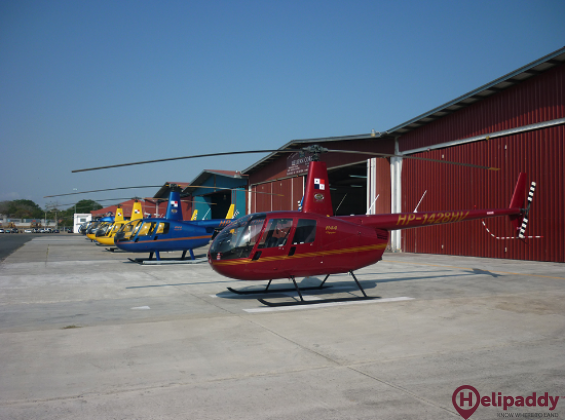 "Albrook ""Marcos A. Gelabert"" Airport by helicopter"