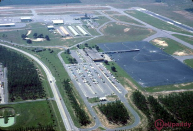 Tallahassee International  by helicopter