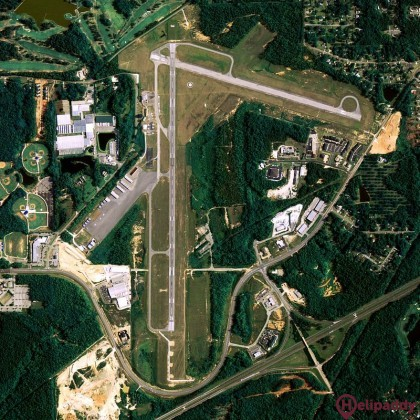 Auburn-Opelika by helicopter