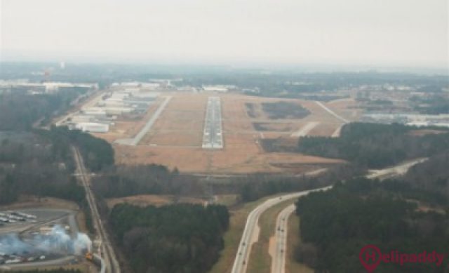 Gwinnett County by helicopter
