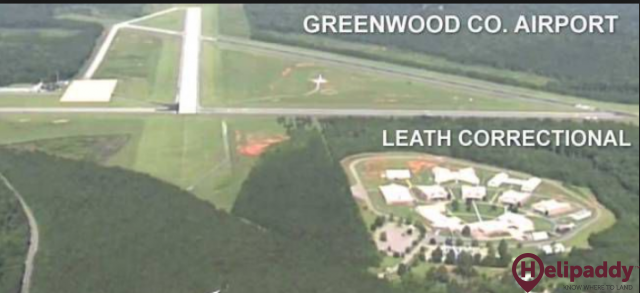 Greenwood County by helicopter