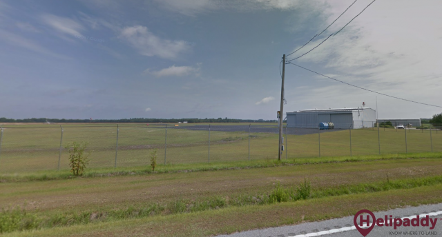 Marlboro County Jetport by helicopter