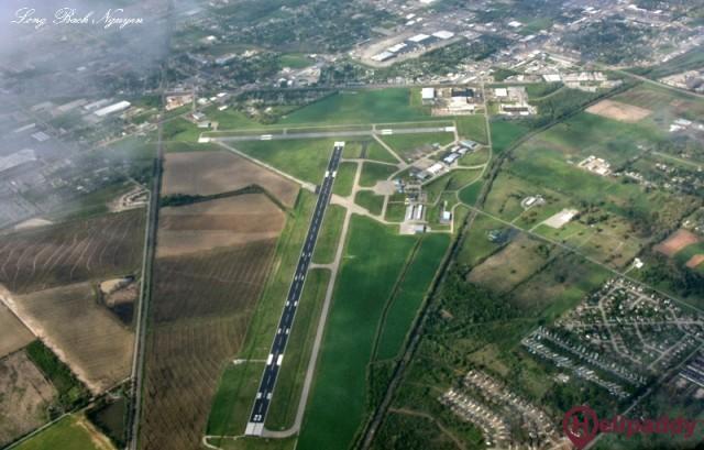 Jonesboro Airport  by helicopter