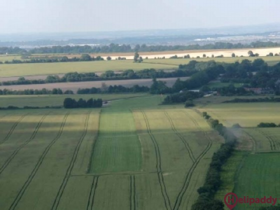 Draycot (Swindon) by helicopter