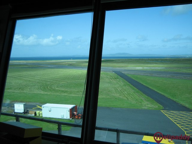 Dundee Airport by helicopter