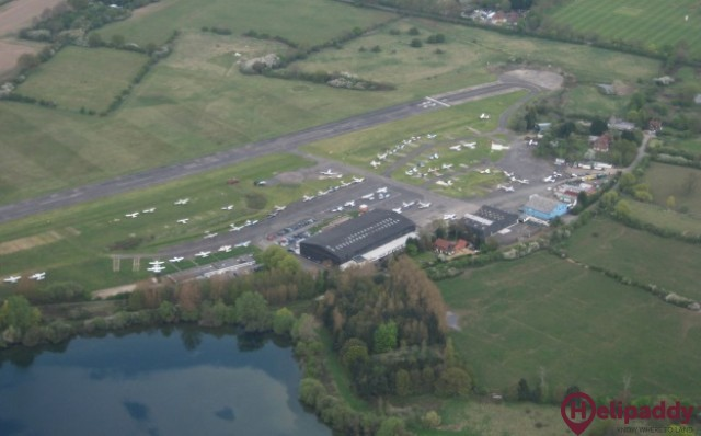 London Elstree Aerodrome by helicopter