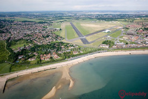 Daedalus (Lee-On-Solent) by helicopter