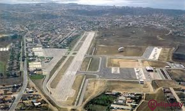 Cascais Airport by helicopter