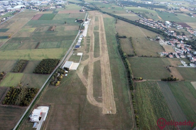 Aeroporto Thiene by helicopter